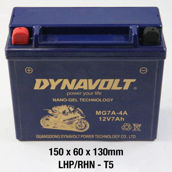 DYNAVOLT Gel Series MG7A-4A CB7B-B CTN6 MOTORCYCLE BATTERY AUSTRALIA