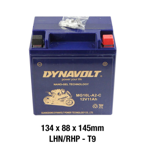 DYNAVOLT Gel Series MG10L-A2-C MOTORCYCLE BATTERY AUSTRALIA