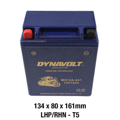 DYNAVOLT Gel Series MG12A-4A1 CTN5 MOTORCYCLE BATTERY AUSTRALIA