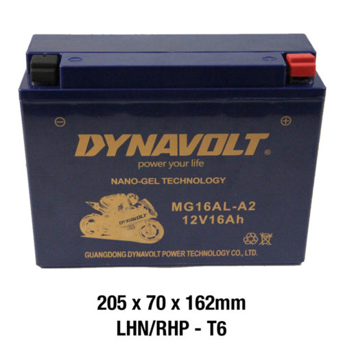 DYNAVOLT Gel Series MG16AL-A2 MOTORCYCLE BATTERY AUSTRALIA
