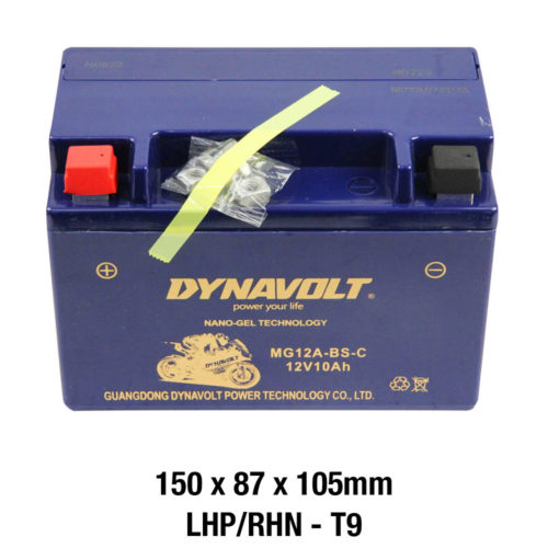 DYNAVOLT Gel Series MG12A-BS-C MOTORCYCLE BATTERY AUSTRALIA