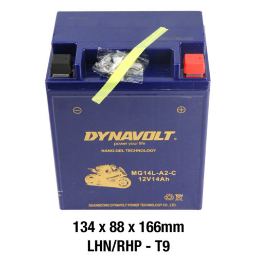 DYNAVOLT Gel Series MG14L-A2-C MOTORCYCLE BATTERY AUSTRALIA