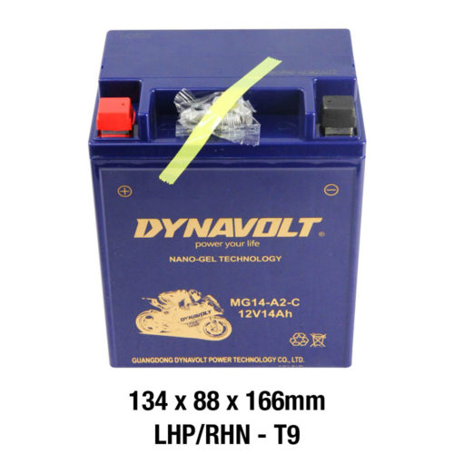 DYNAVOLT Gel Series MG14-A2-C MOTORCYCLE BATTERY AUSTRALIA