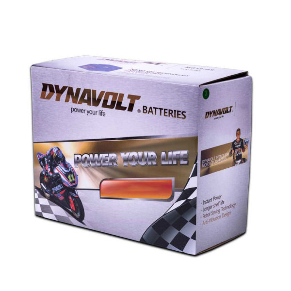 DYNAVOLT Gel Series MG15L-BS MOTORCYCLE BATTERY AUSTRALIA