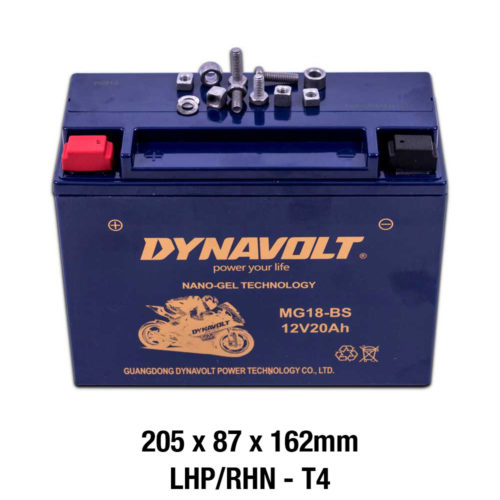 DYNAVOLT GEL SERIES MG18-BS [20Ah CA380 MOTORCYCLE BATTERY AUSTRALIA