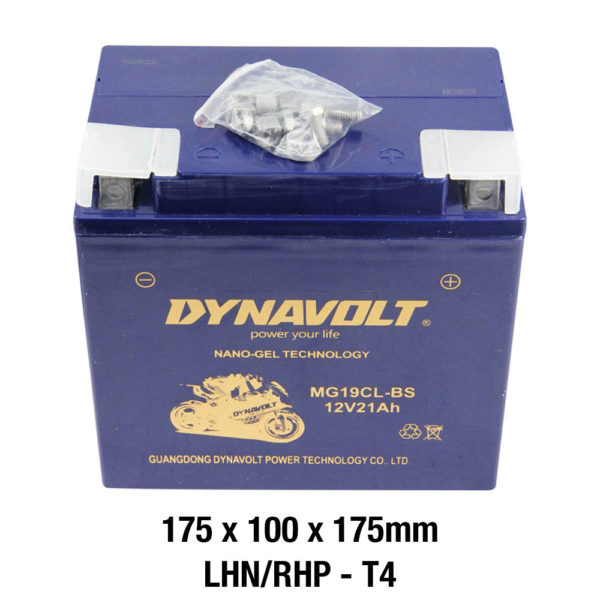 DYNAVOLT Gel Series MG19CL-BS MOTORCYCLE BATTERY AUSTRALIA