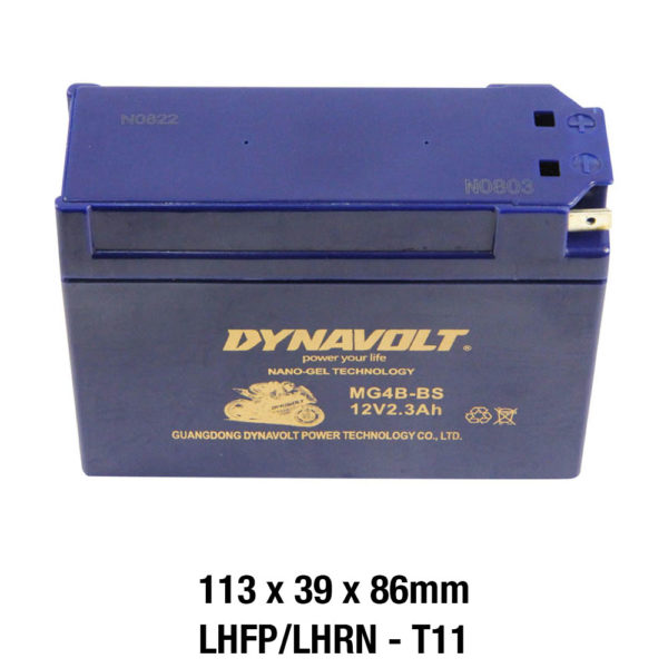 DYNAVOLT Gel Series MG4B-BS MOTORCYCLE BATTERY AUSTRALIA