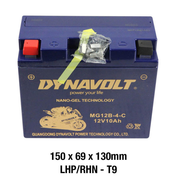 DYNAVOLT Gel Series MG12B-4-C MOTORCYCLE BATTERY AUSTRALIA