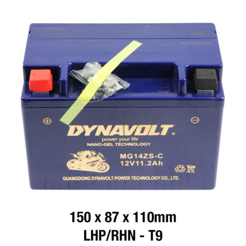 DYNAVOLT Gel Series MG14ZS-C MOTORCYCLE BATTERY AUSTRALIA