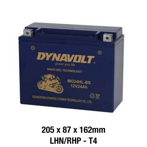 DYNAVOLT Gel Series MG24HL-BS MOTORCYCLE BATTERY AUSTRALIA