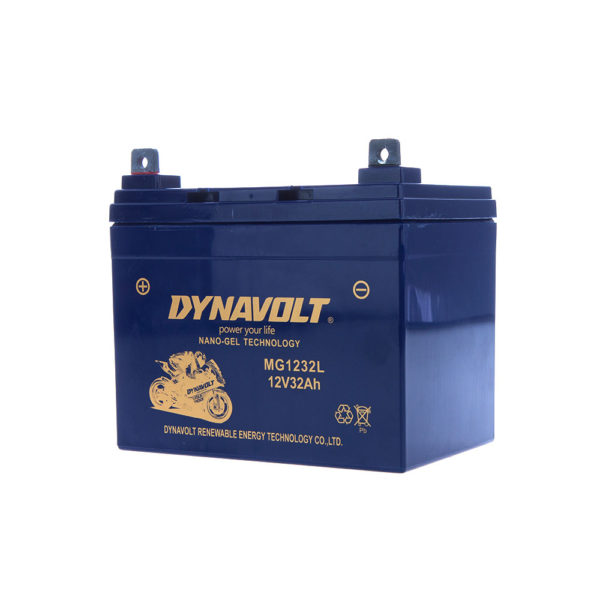 DYNAVOLT, N-GEL: MG1232L 12V32Ah MOTORCYCLE BATTERY AUSTRALIA