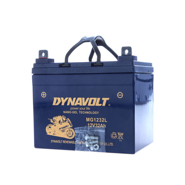 DYNAVOLT NANO GEL MG1232L 12V32Ah MOTORCYCLE BATTERY AUSTRALIA