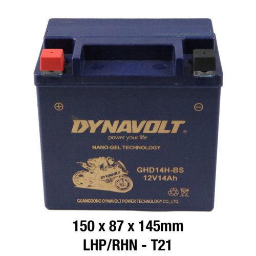 DYNAVOLT Gel Series GHD14H-BS MOTORCYCLE BATTERY AUSTRALIA