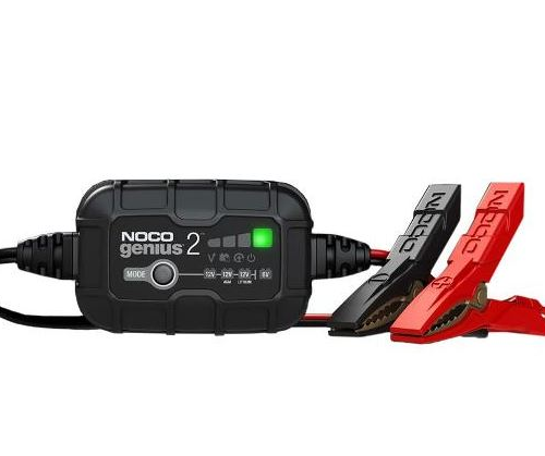 Dynavolt NOCO Battery Charger 2Amp 6v12vLithium Motorcycle Battery Charger Australia