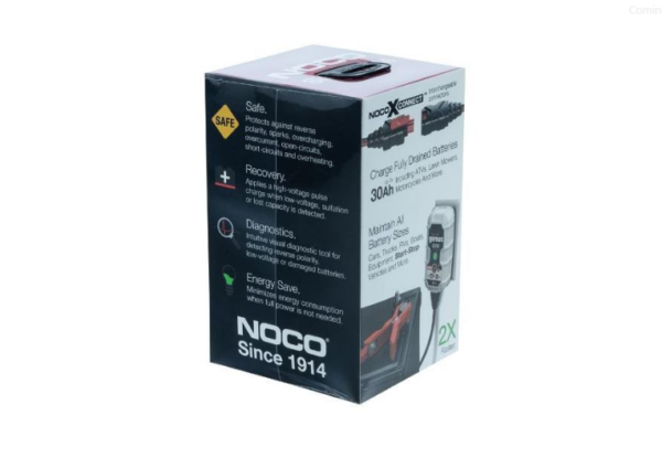 Dynavolt NOCO Battery Charger G750 6 & 12V2 Motorcycle Battery Charger Australia