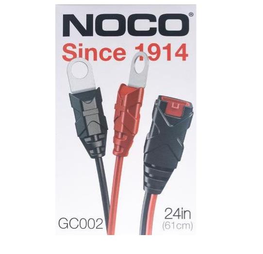 Dynavolt NOCO X-Connect Eyelet Lead Set GC002 Motorcycle Battery Charger Australia