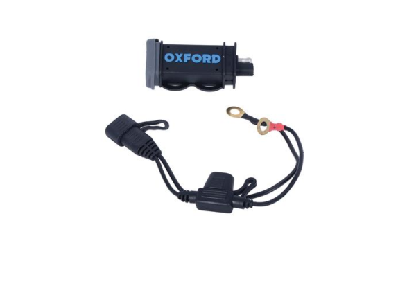 Dynavolt OXFORD USB 2.1AMP HIGH POWER CHARGING KIT Motorcycle Battery Charger Australia