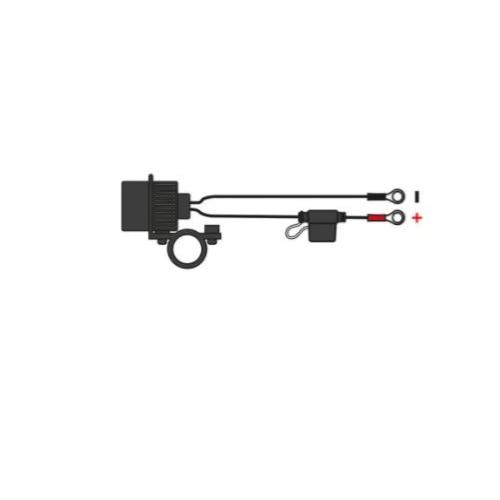 Dynavolt OXFORD USB DUAL SOCKET – HBAR MOUNT Motorcycle Battery Charger Australia